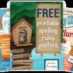 Spelling Rules Posters Freebie
