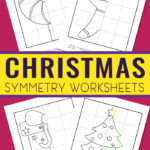 Free Christmas Symmetry Printables