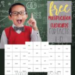 Free Printable Multiplication Flashcards