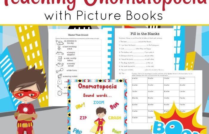 Free Onomatopoeia Printables