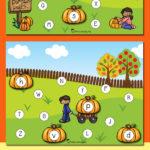 Free Pumpkin Patch Alphabet Matching