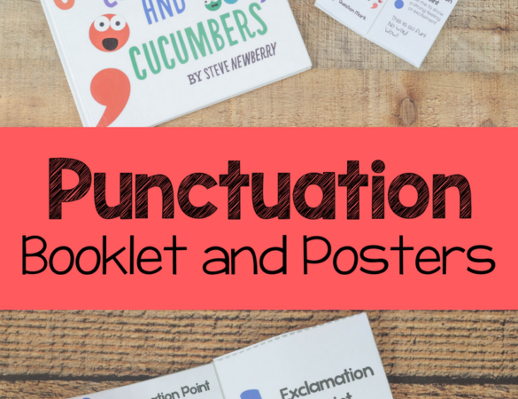 Free Punctuation Booklet & Posters