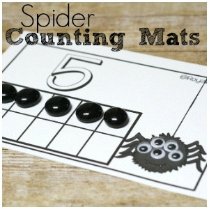Free Spider Counting Mats