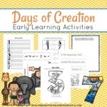 Free Days of Creation Early Learning Pack