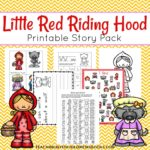Free Little Red Riding Hood Printable Pack
