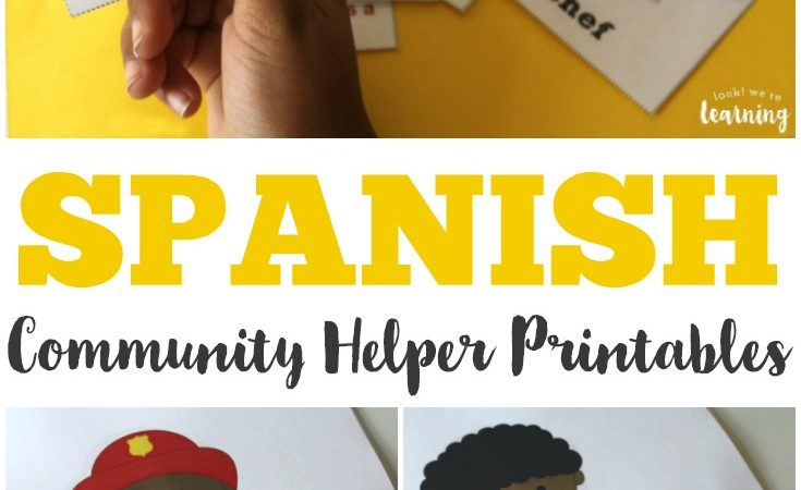 FREE Spanish Community Helpers Printables