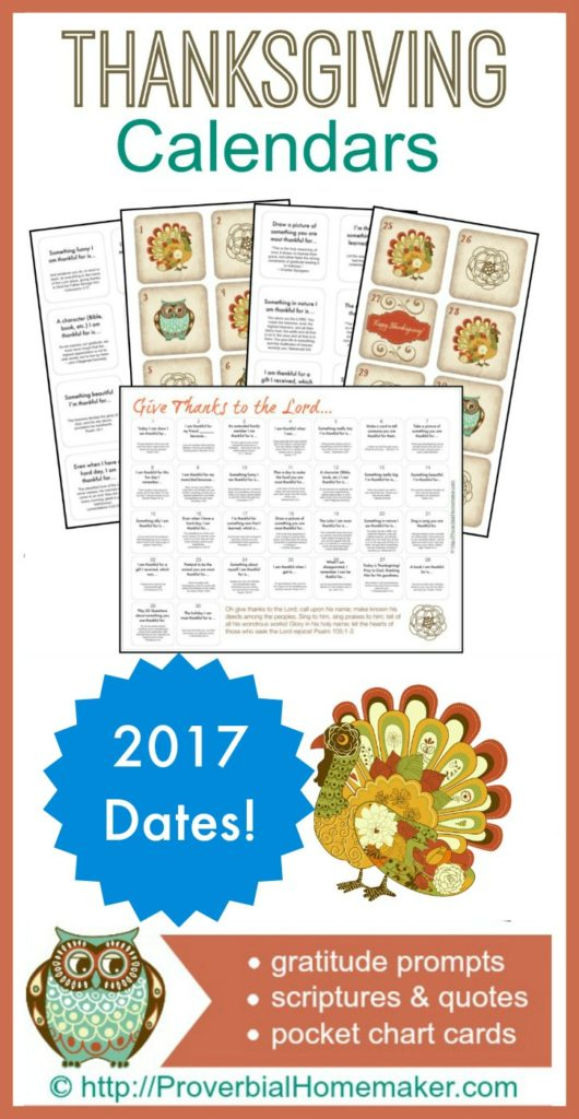 These Thanksgiving Gratitude prompts are perfect for the month of November! :: www.thriftyhomeschoolers.com