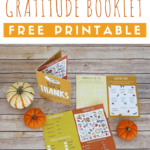 Thanksgiving Gratitude Booklet Freebie
