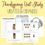 Thanksgiving Unit Study (Limited Time Freebie)