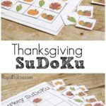 Free Thanksgiving Sudoku