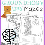 Free Groundhog Day Themed Puzzles