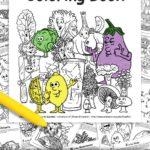 Healthy Food Coloring Book