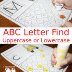 ABC Letter Finds Freebie