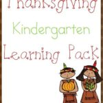 Kindergarten Thanksgiving Learning Pack
