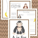 Free A is for Ape Worksheets