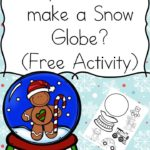 Free Make Your Own Snow Globe Printable Activity