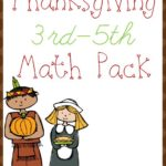 Thanksgiving Math Pack (3rd – 5th)