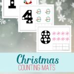 Free Christmas Counting Mats