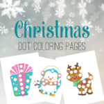 Free Christmas Do-a-Dot Pages