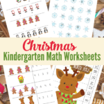 Free Christmas Kindergarten Math Worksheets