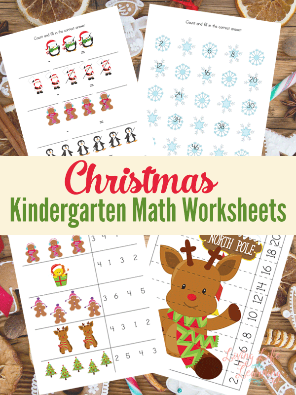 Don't kill me, but Christmas is just 9 weeks away, so we gotta start planning now! Grab these fun Christmas Kindergarten Math Worksheets for some fun practice! :: www.thriftyhomeschoolers.com