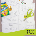 Free Learning Colors Booklet