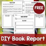 DIY Book Report Freebie