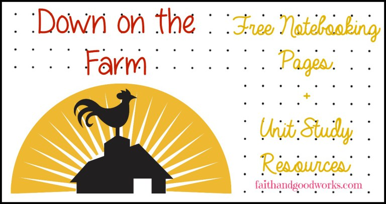 Whether you living on the farm, are planning a visit or just studying about farms, don't miss these free notebooking pages! :: www.thriftyhomeschoolers.com