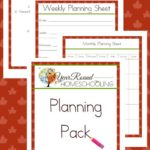 Free October Planning Pack