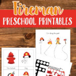 Free Preschool Fireman Printables