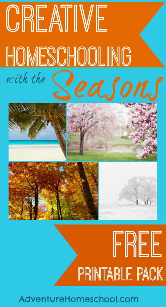 Homeschooling through the Seasons can be fun and a great way to learn. Grab these free printable packs to help + a BONUS Free Pumpkin Math Preschool Pack! :: www.thriftyhomeschoolers.com