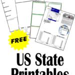 Free U.S. State Printables