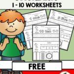 Free Numbers Worksheets (1-10)