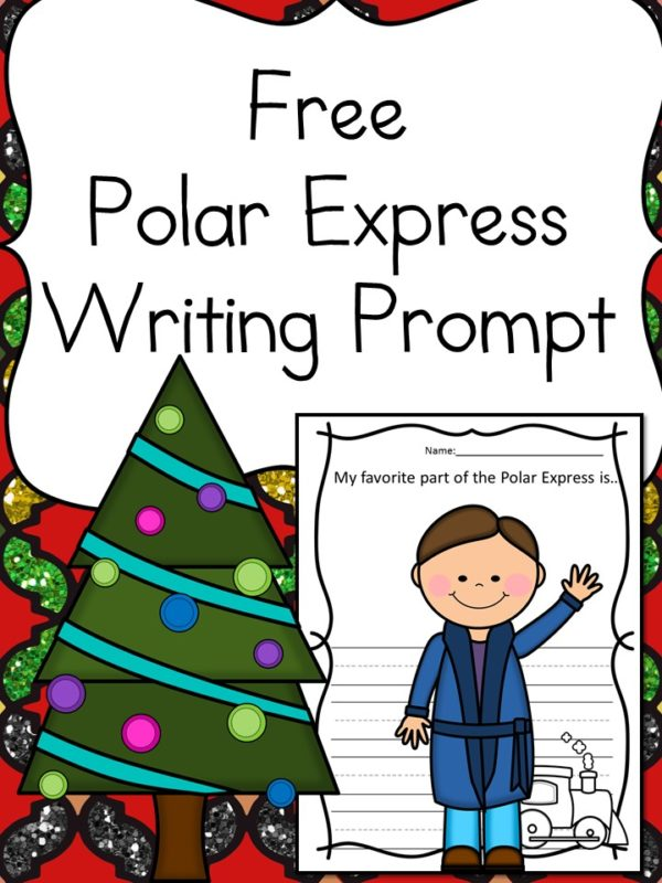 These printable writing prompts based on The Polar Express are perfect for any winter day! :: www.thriftyhomeschoolers.com
