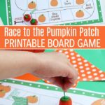 Free Race to the Pumpkin Patch Board Game