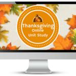 Online Thanksgiving Unit Study Freebie