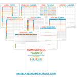Free Homeschool Planner (2017-2018)