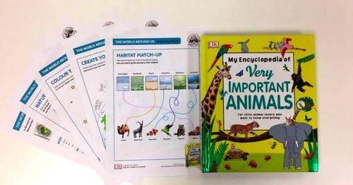 Free Wild Animal Activity Pack