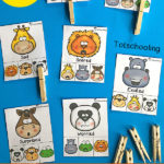 Free Animals Emotions Clip Cards