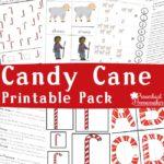 Free Candy Cane Printable Pack