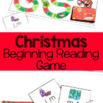 Free Christmas CVC Beginning Reading Game
