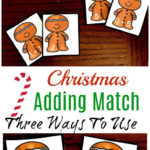 Gingerbread Addition Game Printables