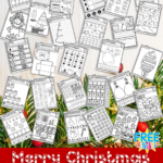 Free 150-Page No Prep Christmas Workbook for Kindergarteners