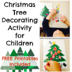 Christmas Tree Decorating Activity with FREE Printable