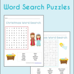 Free Christmas Word Search Printables