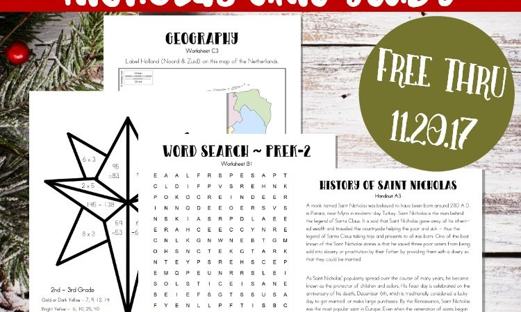 Limited Time Freebie: Christmas Unit Study