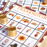 Free Thanksgiving BINGO