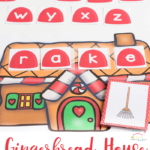 Free Gingerbread House CVCE Words