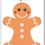Free Gingerbread Man Templates