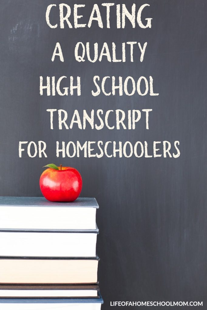 Whether you're nearing the end of high school or just starting, this printable High School Transcript is perfect to help you record everything! :: www.thriftyhomeschoolers.com